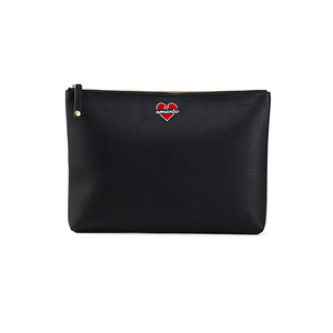 NOMANTIC LOGO CLUTCH BLACK