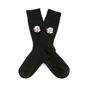 NEW APOLLO DOG SOCKS(2018VER) BLACK