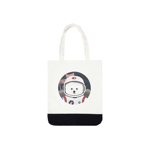 [RE-EDITION]APOLLO DOG ECO-BAG IVORY