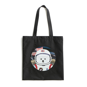[RE-EDITION]APOLLO DOG NYLON TOTE-BAG BLACK