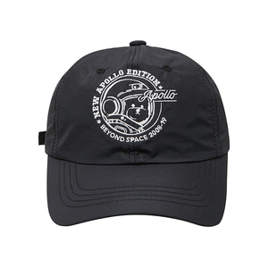 [RE-EDITION]APOLLO NYLON BALL-CAP BLACK