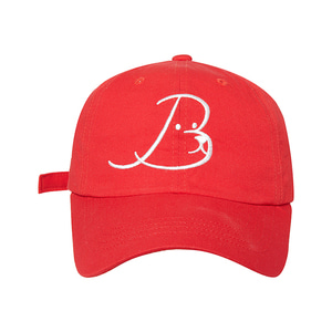 ILP NEW LOGO BALL-CAP RED