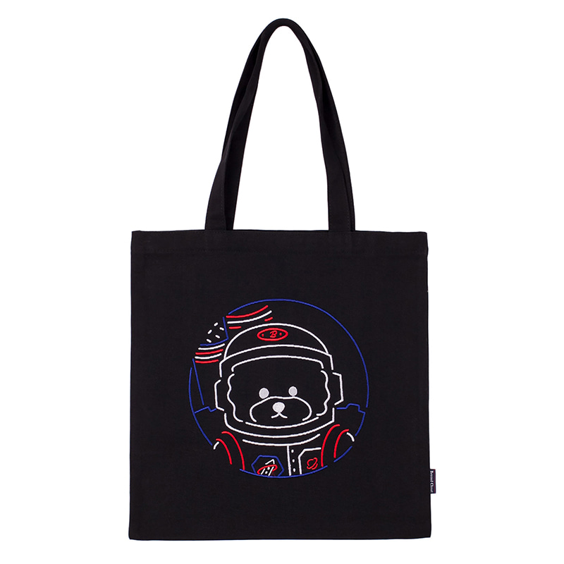 [RE-EDITION]APOLLO 3D LINE DOG ECO BAG BLACK