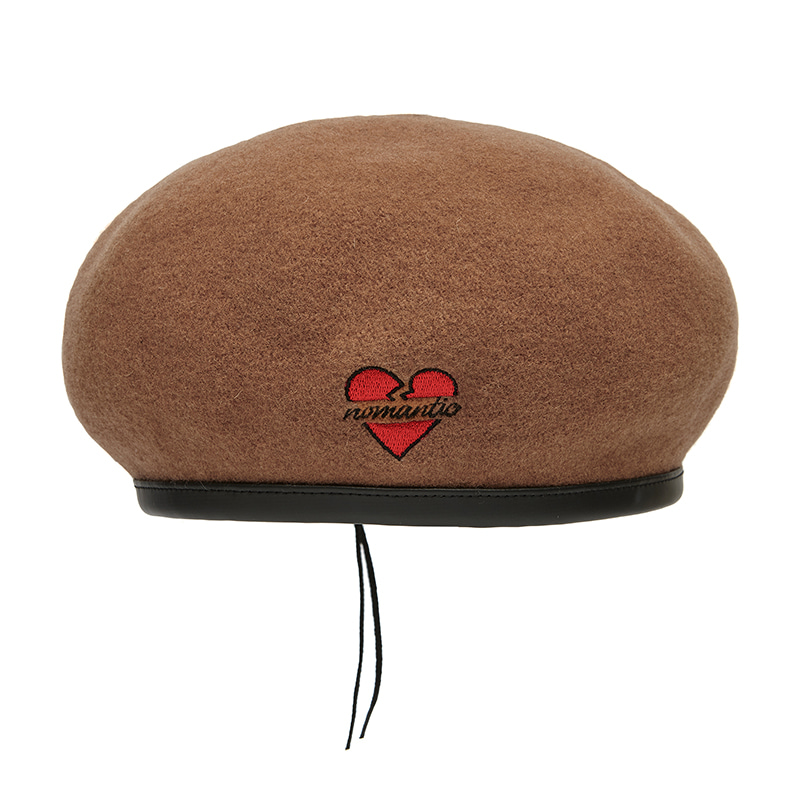 NOMANTIC WOOL BERET 2019VER CAMEL