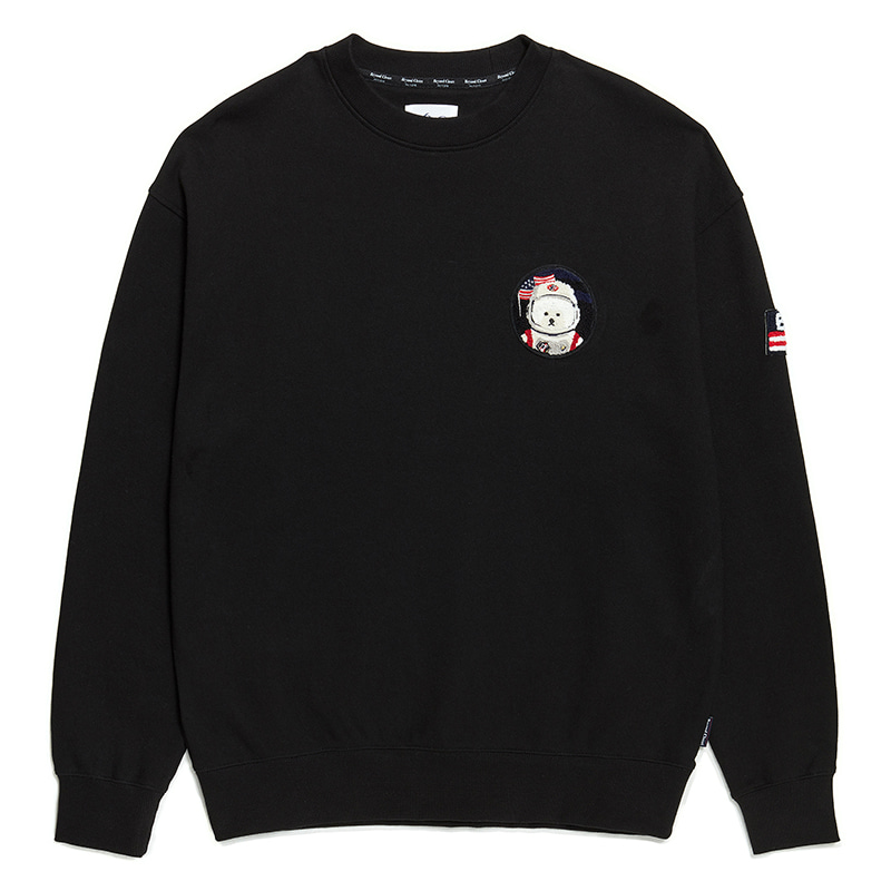 [RE-EDITION]APOLLO W-WAPPEN SWEAT-SHIRTS 2020SS BLACK