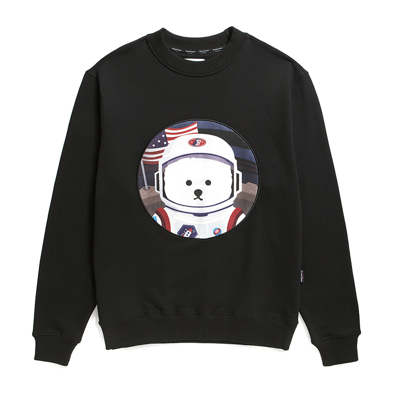 [RE-EDITION]APOLLO DOG PATCH SWEAT-SHIRTS 2020SS BLACK
