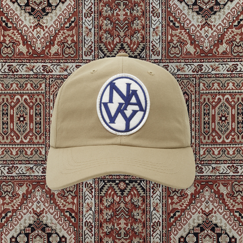 [20ARCHIVE]NEW LOGO CHINO CAP BEIGE