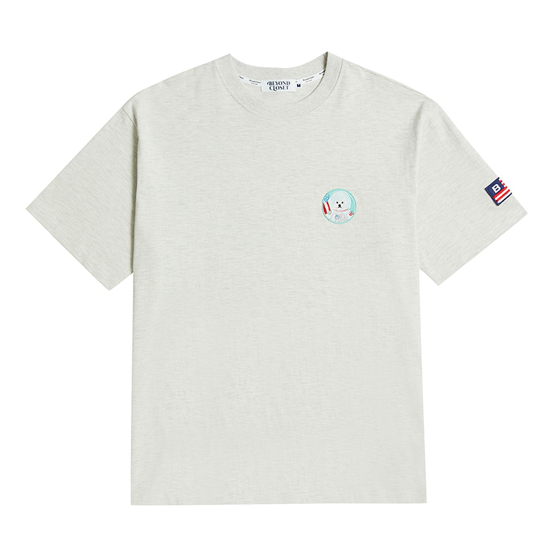 APOLLO DOG WAPPEN 1/2 T-SHIRTS 2020VER IVY GRAY